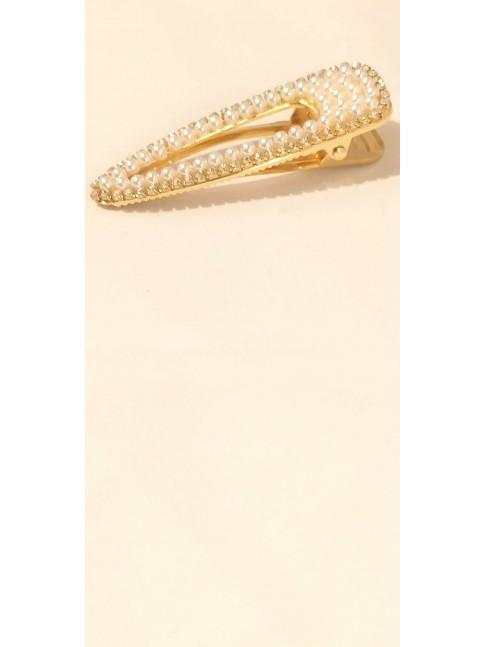 Pince Goa dorée et ses multiples perles