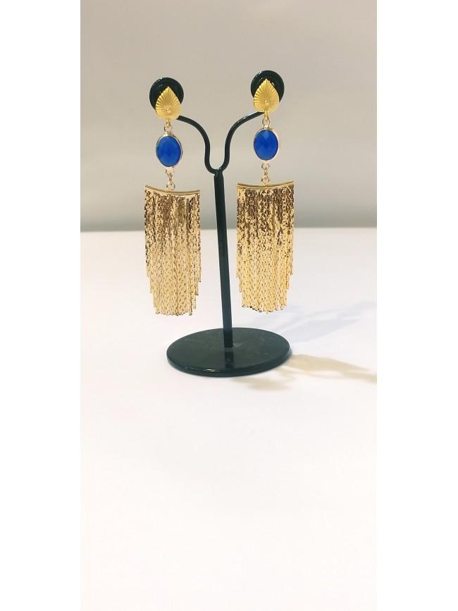 Boucles d'oreilles Marbella dorée