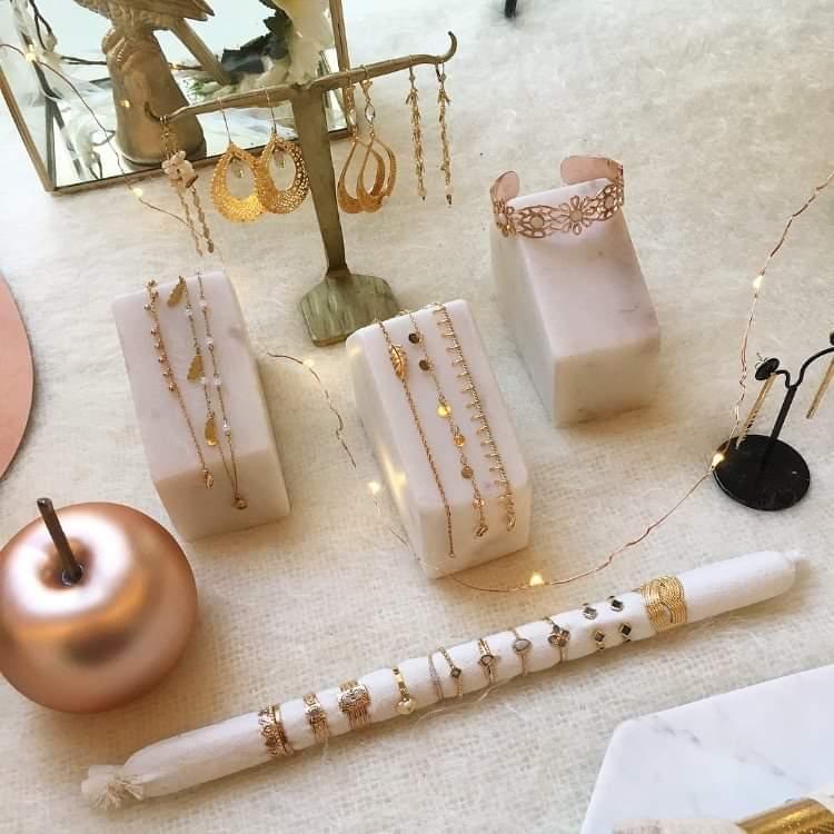 Présentoirs bijoux mariage Pampilles à la folie